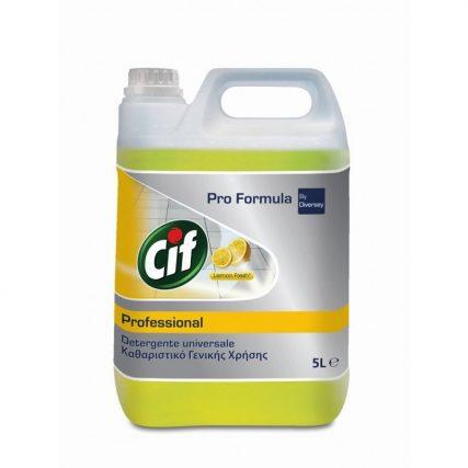 cif professional lemon fresh 5lt