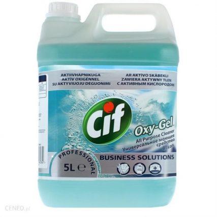 i cif professional zel do podlog 5 l oxy gel